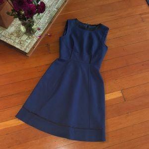Ellie Tahari Wool fit and flare dress Sz 2 EUC